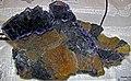 Fluorite-sphalerite (Denton Mine, near Cave-in-Rock, Illinois, USA) (34522243406).jpg