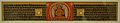 Folio - Prajnaparamita - Palm Leaf - Circa 13th Century AD - Barendra Bhumi - National Museum - New Delhi - Indian Buddhist Art - Exhibition - Indian Museum - Kolkata 2012-12-21 2223 02.JPG