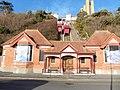 Folkestone, Leas Cliff Funicular railway, general view.jpg