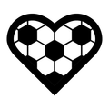 Football Heart Soccer Fußball Fussball Herz - Version 7.png