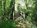 Footbridge exit from wood - geograph.org.uk - 1284633.jpg