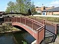 Footbridge over Mill Stream, Taunton - geograph.org.uk - 1235388.jpg