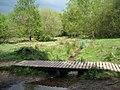 Footbridge over Plants Brook, Sutton Park - geograph.org.uk - 1859892.jpg