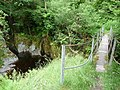 Footbridge over the Afon Mynach - geograph.org.uk - 1945253.jpg