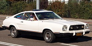 Ford Mustang (second generation) - Ford Mustang II liftback