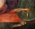 Ford madox brown, gesù lava i piedi a pietro, 1852-56, 06 sandali.jpg