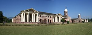 Indian Council of Forestry Research and Education - Image: Forest Research Institute campus, Dehradun, India