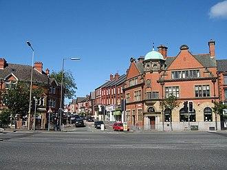 Aigburth - Image: Former Barclays Bank on Aigburth Rd, Liverpool