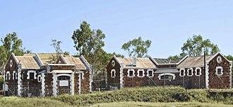 Roebourne, Western Australia - Image: Former Roebourne Gaol by G Temple Poole
