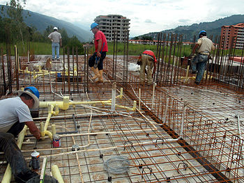 English: High rise housing construction in Ven...