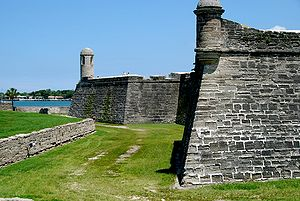 Siege of St. Augustine (1740) - Image: Fort 2