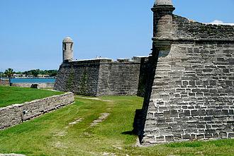 Siege of St. Augustine (1740) - Castillo de San Marcos