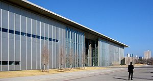 Modern Art Museum of Fort Worth - Image: Fort Worth Texas Modern Art Museum 2003
