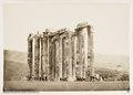 Fotografi på Zeustemplet i Aten, Grekland - Hallwylska museet - 104626.tif