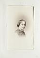Fotografiporträtt på Amalia von Bülow, 1860-tal - Hallwylska museet - 107618.tif