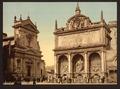 """Fountain """"Acqua Felice"""", Rome, Italy-LCCN2001700947.tif"""