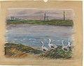 Four Geese By a Pond MET 1976.201.10.jpg