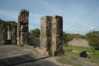 Kondapalli Fort - Forecourt of the fort
