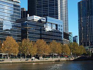 Foxtel - Foxtel headquarters in Southbank, Victoria