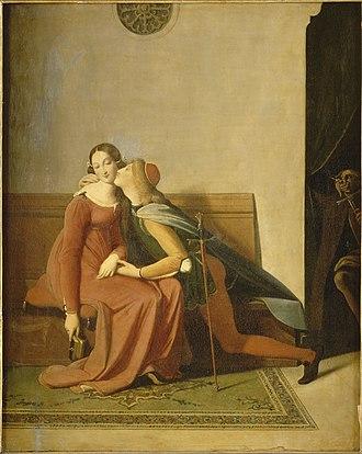 Paolo and Francesca (Ingres) - Image: Françoise de Rimini Ingres Musée Condé