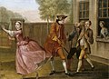 Francis Hayman (1708-1776) - The Elopement, Pamela Flying to the Coach, While Lady Danvers Sends Two of Her Footmen to Stop Her ( - 998400 - National Trust.jpg