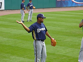 Francisco Cordero - Cordero with the Brewers in 2007