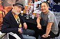 Frank Miller and Jim Lee at DC's Pop-Up Shop - SXSW 2018 (40048142194).jpg