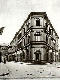 Frankfurt Saalbau 1890