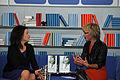 Frankfurter Buchmesse 2011 - Das Blaue Sofa - Elsner und Braun 2.JPG