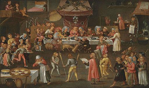 Frans Verbeeck (atelier) - Boerenbruiloft