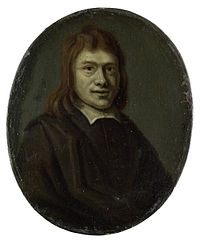 Portrait of Frans van Hoogstraten, Poet and Bookseller in Rotterdam and Dordrecht