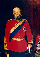 Franz Josef of Austria K.G. Colonel-in-Chief 1st King's Dragoon Guards 1896 - 1914