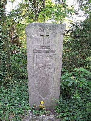 Franz Konwitschny - Gravesite of Franz Konwitschny at southern cemetery Leipzig