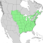Fraxinus pennsylvanica range map 2.png