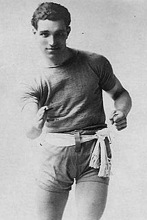Fred Dyer Welsh singer and boxer
