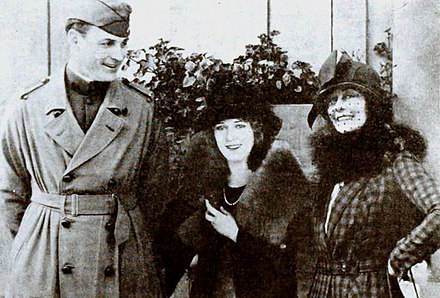 Fred Thomson, Frances Marion et Mary Pickford en 1919