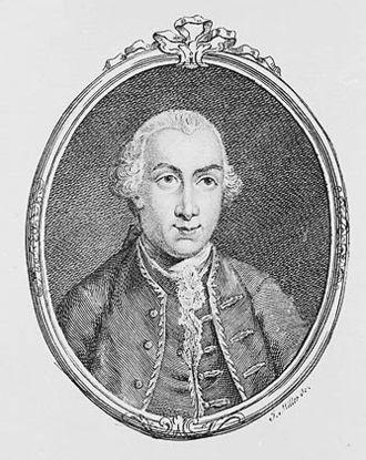 Frederick Calvert, 6th Baron Baltimore - Engraving of Frederick Calvert, 6th Lord Baltimore