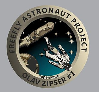 Olav Zipser - Official FreeFly Astronaut Space patch