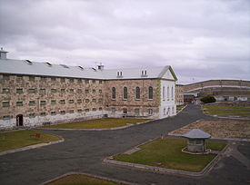Fremantle prison main cellblock.JPG