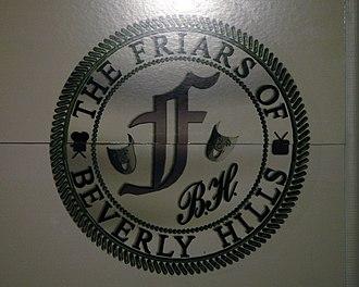 Friars Club of Beverly Hills - The Friars Club logo