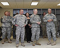 From right foreground, U.S. Army Col. Michael Kinnison, an administrative officer with the 45th Infantry Brigade Combat Team (IBCT), Oklahoma Army National Guard, leads a tour of the new Norman Armed Forces 130528-Z-VF620-4478.jpg