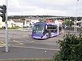 Ftr bus in West Way, Swansea city centre, 19035 (S40 FTR), 2 October 2009.jpg