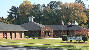Fuquay-Varina, North Carolina - Image: Fuquay Varina town hall