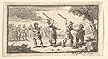 Fustium Admonitio (John Beaver, Roman Military Punishments, 1725) MET DP824583.jpg