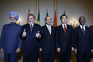 A meeting of G5 leaders in Berlin, Germany. Fr...