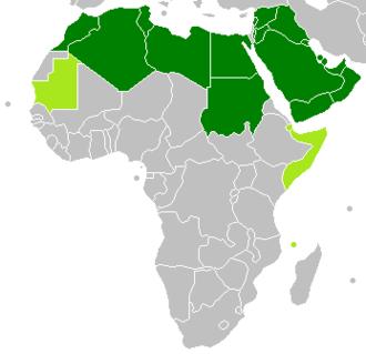 Council of Arab Economic Unity - Image: GAFTA Members