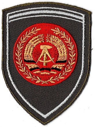 Ranks of the National People's Army - Image: GDR Army W1 4 Fähnrich sleeve