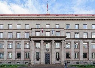 Government of Latvia - Image: Gabinete de Ministerios de Letonia, Riga, Letonia, 2012 08 07, DD 01