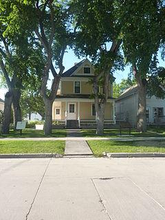 Maison Gabrielle-Roy historical house museum in St. Boniface, Manitoba