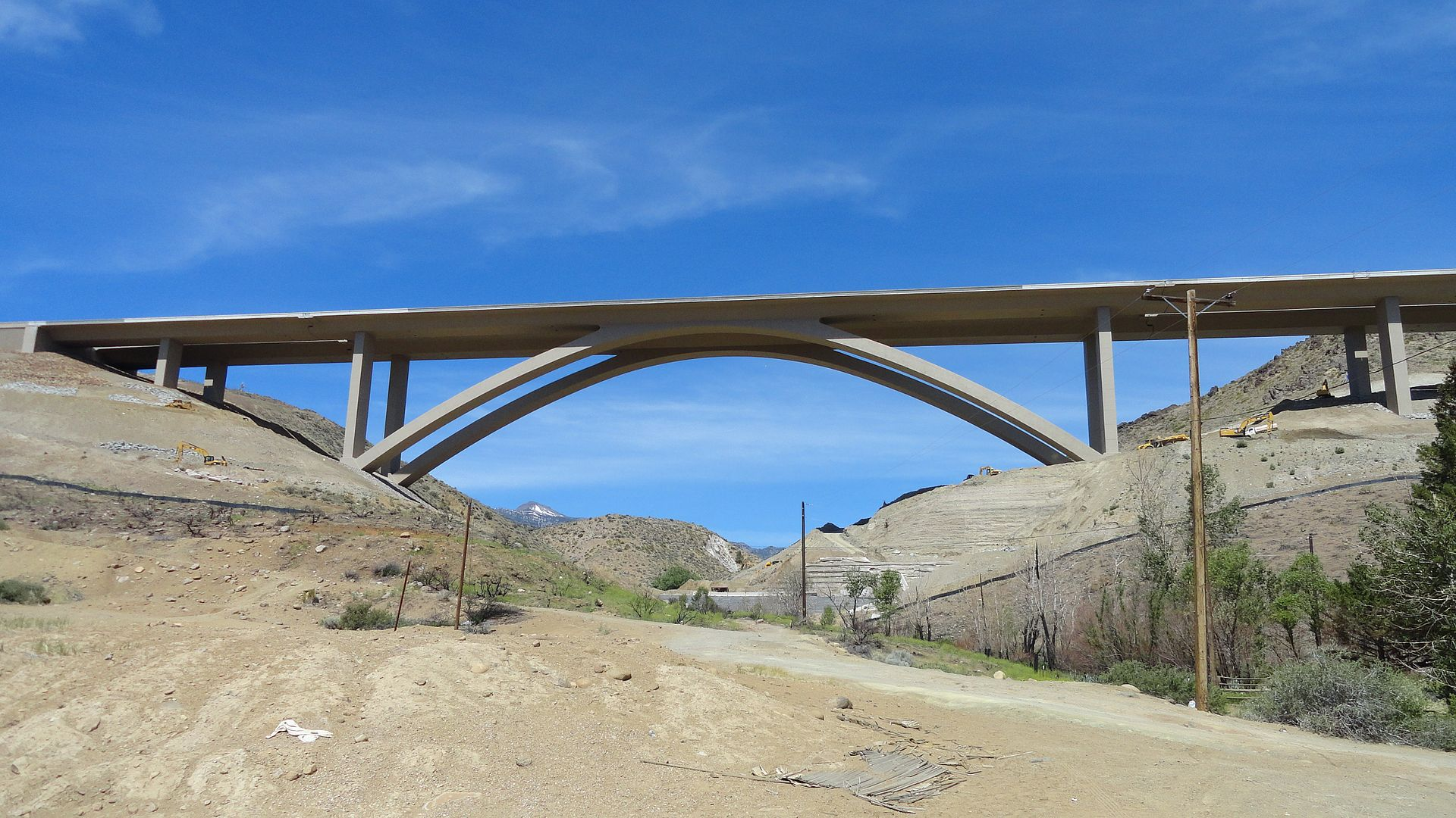 1920px Galena Creek Bridge in June 2012 - Bridge Engineering – Types of Bridges